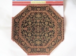 Octagon Dollhouse Miniature Rug-002