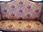 Josette Living Room Aubusson Set in Rose by Bespaq