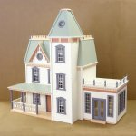 Assembled, Finished and Built Dollhouses
