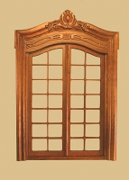 Pollinade French Double Interior Dollhouse Door