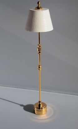Floor Lamp with Brass Finish F9S