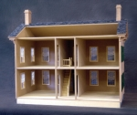 Lincoln Springfield Home Dollhouse Kit