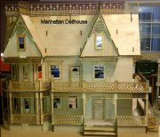 Victorian Gingerbread Farmhouse Dolhouse