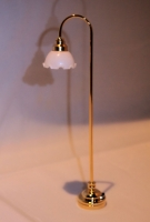 Brass Floor Lamp F6
