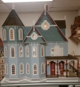 New Leon Victorian Gothic Dollhouse Kit
