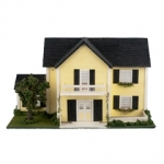 Colonial Style Dollhouse Kit in 144th Scale.