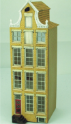 Pinnacled Neck Gabled Amsterdam Canal House 144th Scale