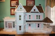 Completed Harborside Manor Dollhouse