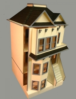 Belton Bay Front-Opening Dollhouse by Majestic Mansions