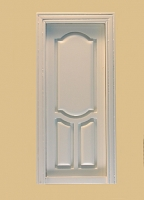 Stannford Interior Dollhouse Door in White