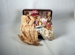 Miniature Trunk with Ladies Accessories