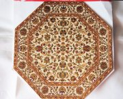 Woven Octagon Rug for Dollhouses