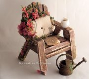 Outdoor Miniature Chair and Accessories