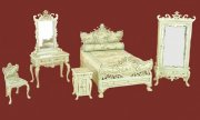 The Dauphin Lyre Bedroom Set by Bespaq