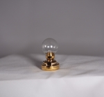 Clear Globe Table Lamp T6 CLEAR