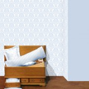 Blue Patterned Miniature Wallpaper