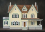 North Park Mansion Dollhouse Kit