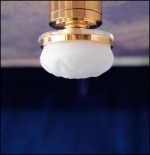 Frosted Globe Ceiling Lamp C29