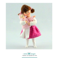 Little Girl Doll with Doll by Erna Meyer-Lisa