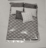 Modern Dollhouse Comforter-Double