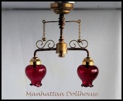 Delancey Street Cafe Dollhouse Battery light C37 R