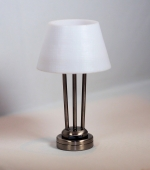 The New Yorker Table Lamp in Pewter T27