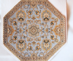 Medium Octagon Miniature Rug