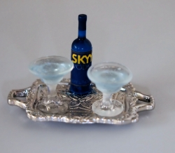 Miniature Vodka Cocktail Set