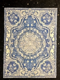 Miniature Persian Floor Tile
