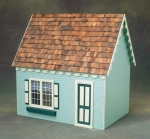 Scale Keeper's House Dollhouse Kit