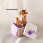 Giraffe in gift box