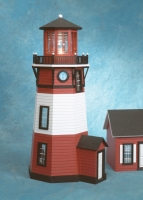Finished 1/2 Scale New England Lighthouse