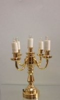 The Sutton Place Miniature Candelabra-Battery Operated T23