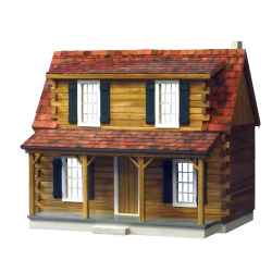 Adirondack Cabin Dollhouse Kit
