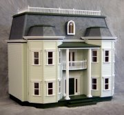 Foxhall Manor Dollhouse Kit-Milled Plywood