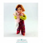 Erna Meyer Little Girl Doll Lilly with Doll