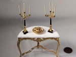 David Iriarte Candelabrum in Gold and Black