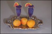 Tropical Pink Grapefruit Miniature Drink Set