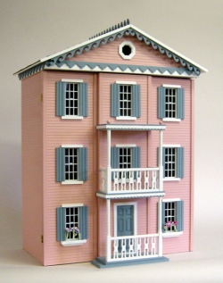 Front-Opening Lilliput Strawberry Patch Dollhouse Kit