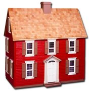 The Laser Cut Jefferson Dollhouse Kit