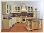 Bespaq's Miss Paula's Kitchen in Creme and New Walnut