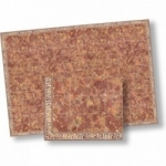 Faux Terra Cotta Dollhouse Floor Sheet