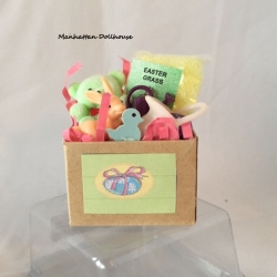 Miniature Easter Decoration Box