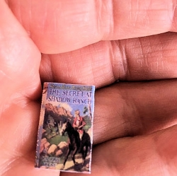 Nancy Drew Miniature Book-The Secret at Shadow Ranch
