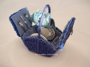 Miniature Wicker Picnic Basket