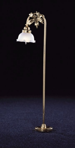 Fluted Shade Floor Lamp