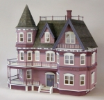 Queen Anne Victorian Dollhouse Kit