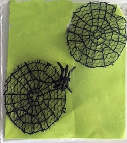 Miniature Spider Web Set