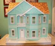 Built and Painted Rose Marie Dollhouse