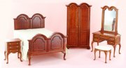Traditional Bedroom Set by Bespaq
